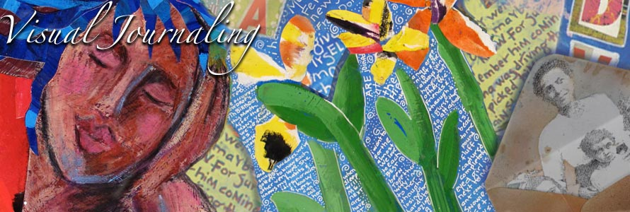 visual journaling graphic by beth marcil