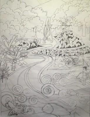 """""""Finished sketch"""""""