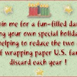 Eco-Friendly Holiday Gift Wrap Workshop