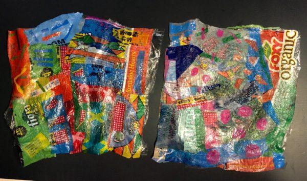 heat-fused plastic bags